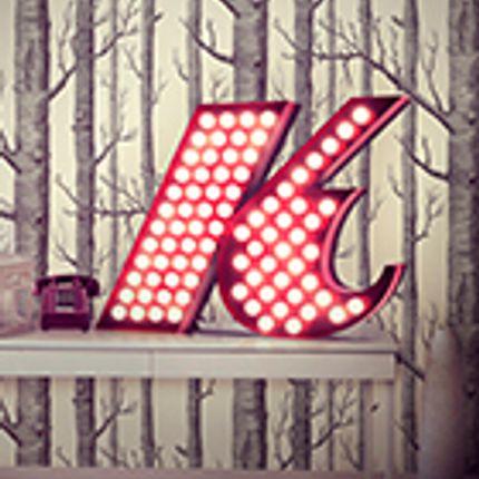 Éclairage LED - K Graphic Lamp - DELIGHTFULL
