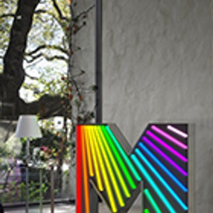 Éclairage LED - M Graphic Lamp - DELIGHTFULL