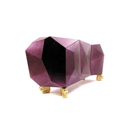 Decorative objects - Diamond Amethyst Sideboard  - COVET HOUSE
