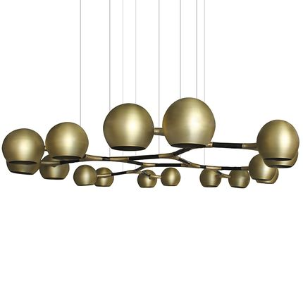 Hanging lights - HORUS Suspension Light  - BRABBU DESIGN FORCES