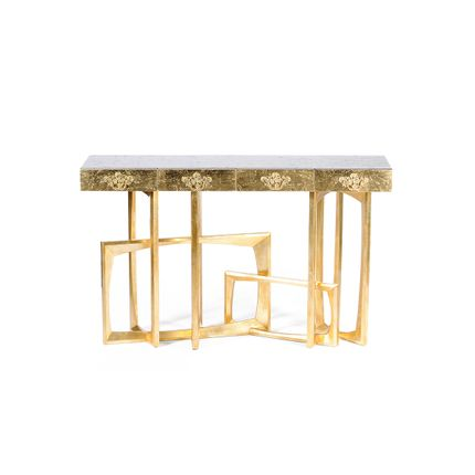 Tables consoles - Metropolis Console Table - COVET HOUSE