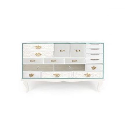 Sideboards - Soho White Sideboard  - COVET HOUSE