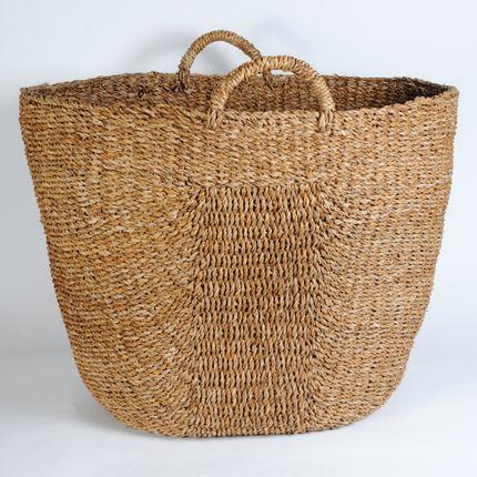 Panier a linge - Extra large hogla basket - MAISON BENGAL