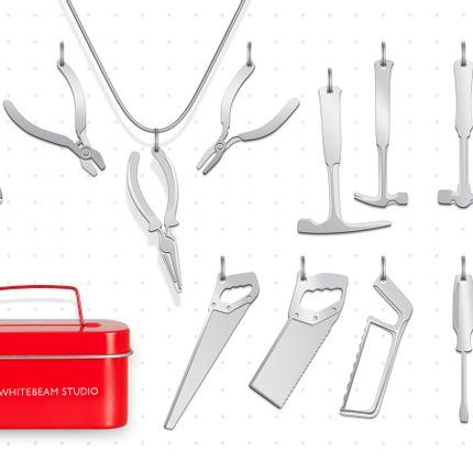 Jewelry - Toolbox jewellery - WHITEBEAM STUDIO
