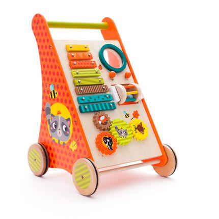 Jouets - Walker trolley with activities Forest animals - EUREKAKIDS