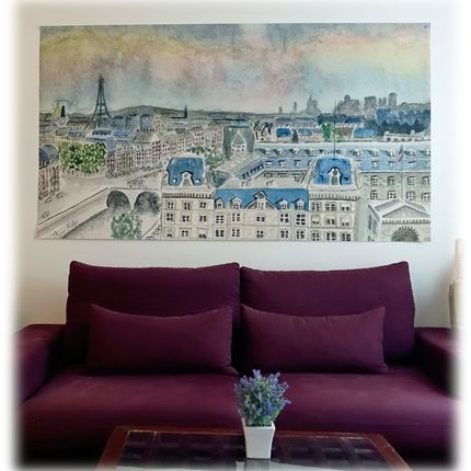 Wallpaper - Looking for a Parisian touch in your interior...? Here is the solution..:)- ..(Possible custom made products for hotels, restaurants etc..) - EDITIONS ANNE DE PARIS