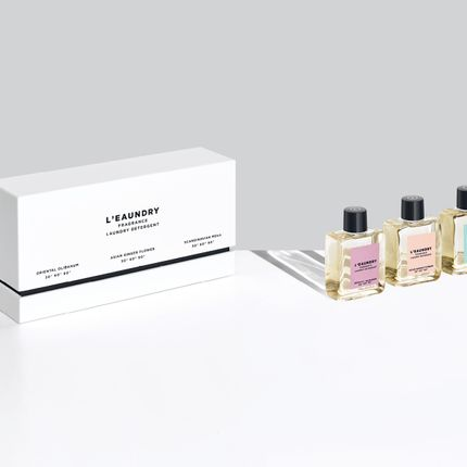 Home fragrances - L'EAUNDRY Miniatures Gift Set 3 x 60ML - L'EAUNDRY FRAGRANCE DETERGENT