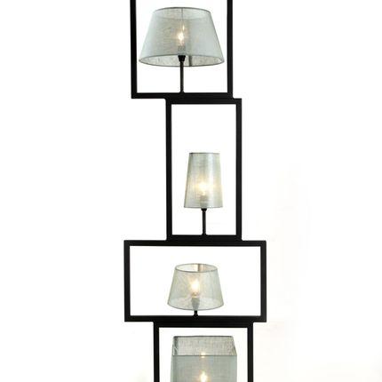 Lampadaires - le carré de lampe - METALSPIRIT