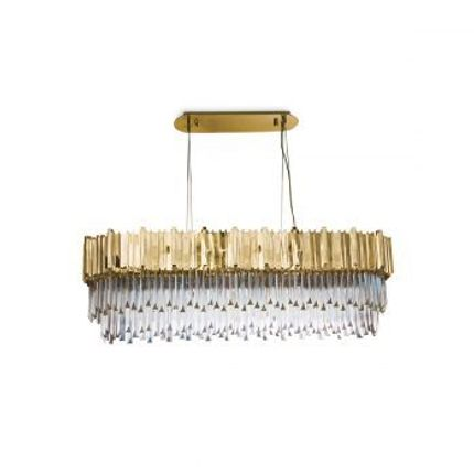 Suspensions - Empire Snooker Suspension Lamp  - COVET HOUSE