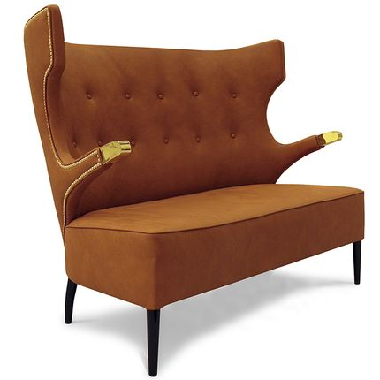 Small sofas - SIKA 2 Seat Sofa - BRABBU DESIGN FORCES