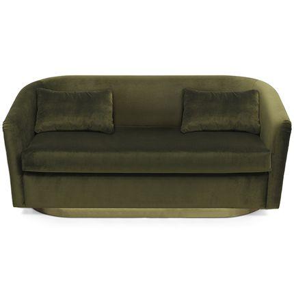 Small sofas - EARTH 2 Seat Sofa - BRABBU DESIGN FORCES