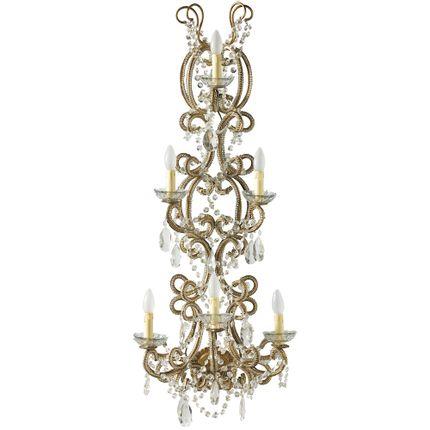 Wall lamps - Sconce Bordeaux Pearl L  - MIS EN DEMEURE