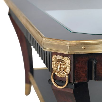 Tables basses - Table basse Marie Louise style Empire - MAISON TAILLARDAT