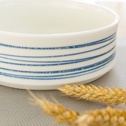 Platter, bowls - Spiral Porcelain dish  - OZECLORE