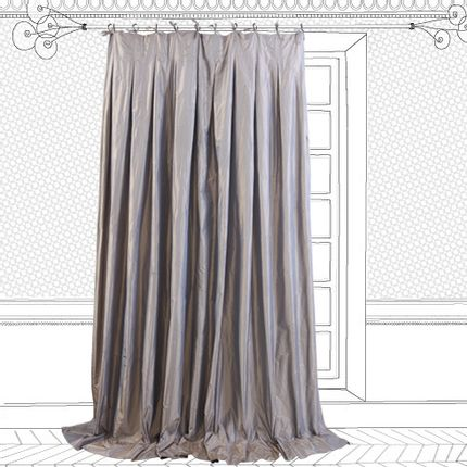 Curtains / window coverings - Curtains Taffetas - BEATRICE LAVAL LE MONDE SAUVAGE
