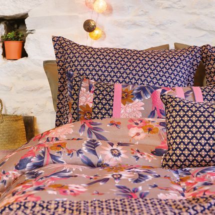 Bed linens - DUVET COVER PARADISE GREGE - LA FIANCEE DU MEKONG