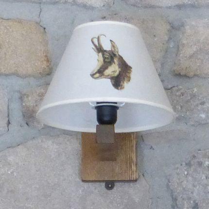 Personalizable objects - MOUNTAIN AND SKI WALL LAMP  - LA MAISON DE GASPARD / FP CONCEPT