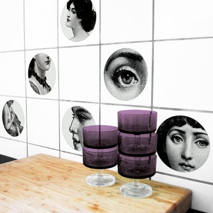 Wall decoration - Lina - Tile sticker - BOUBOUKI INDIVIDUAL.INTERIOR.ITEMS.