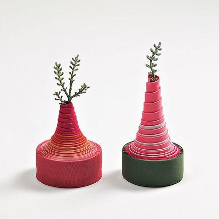 Vases - Band Craft Flower Vase - CRAFT DESIGN LAB