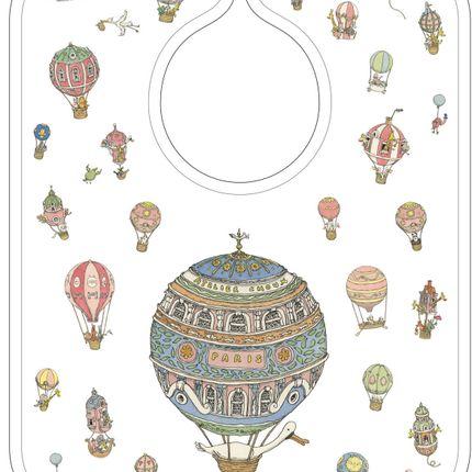 Accessoires enfants - Grand bavoir illustré - ATELIER CHOUX PARIS