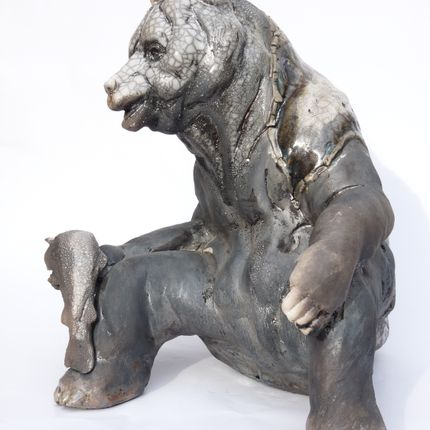 Sculpture - L'OURS - CHRISTIAN MARTINON
