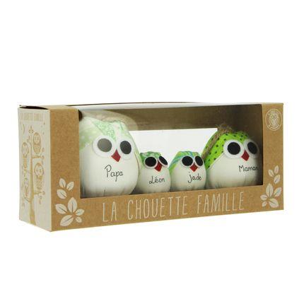 Personalizable objects - la chouette famille  - LA CHOUETTE FAMILLE