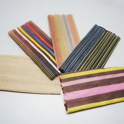 Leather goods - Protocol 2 : Hair weaving - ANTONIN MONGIN