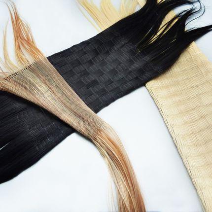 Sculpture - Protocol 3 : Hair knitting - ANTONIN MONGIN