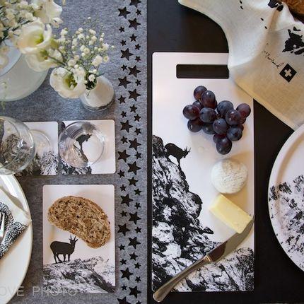 Platter, bowls - Goat chopping board  - MA LOVE