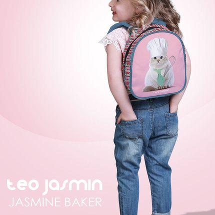 Sacs / cartables - GRAND SAC A DOS JASMINE BAKER - TEO JASMIN