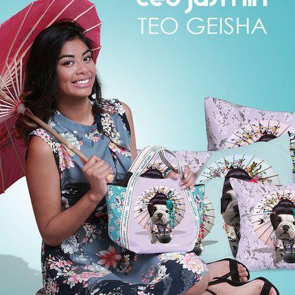 Bags / totes - TEO GEISHA SMALL TOTE BAG - TEO JASMIN