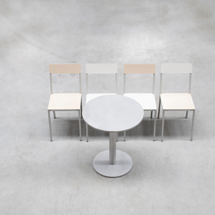 Chairs - alu collection - VALERIE_OBJECTS