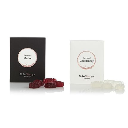 Hotel rooms - The Real WINE Gum - Merlot & Chardonnay delicatesse - VINOOS