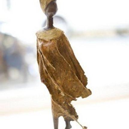 "Sculptures / statuettes / miniatures - Bronze ""Femme du Sahel"" - MOOGOO CREATIVE AFRICA"