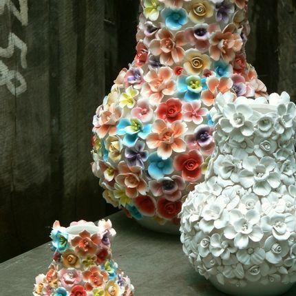 Ceramic - FLOWERVASE - DES POTS