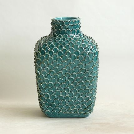Ceramic - Scales Bottle - CERAMICA ND DOLFI