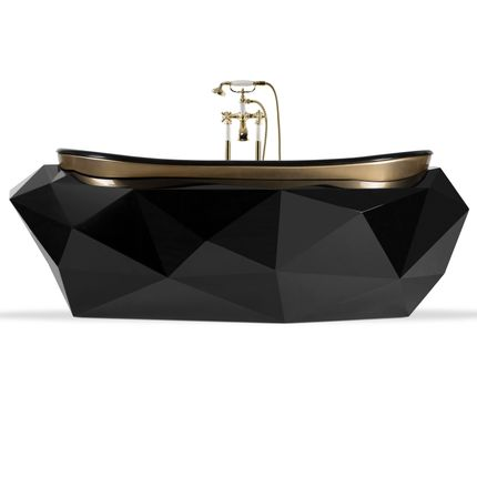 Bathtubs - Diamond Bathtub - MAISON VALENTINA