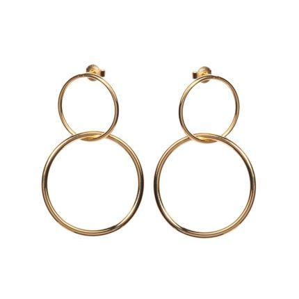 Jewelry - Boucles Doubles anneaux  - FABIEN AJZENBERG PARIS