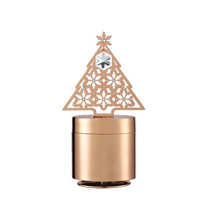 Christmas decoration - Rotatable Christmas Tree Music Jewellery Box  - SIRIUS GROUP - Gifts Solutions (Design and Manufacturing)
