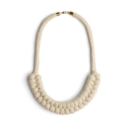 Bijoux - Sailor's Plait Necklace - ELEANOR BOLTON STUDIO