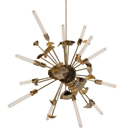 Ceiling lights - SUPERNOVA Chandelier - BOCA DO LOBO
