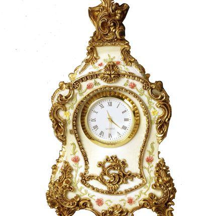 Sculptures / statuettes / miniatures - Ivory historical clock Cartel - AGB PARIS