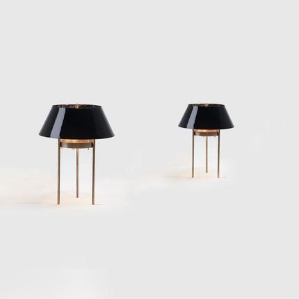 Table lamps - Luni Table Lamp - MAPSWONDERS