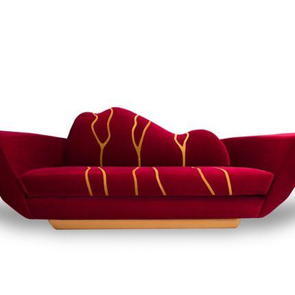 sofas - Kintsukuroi sofa - ALMA DE LUCE