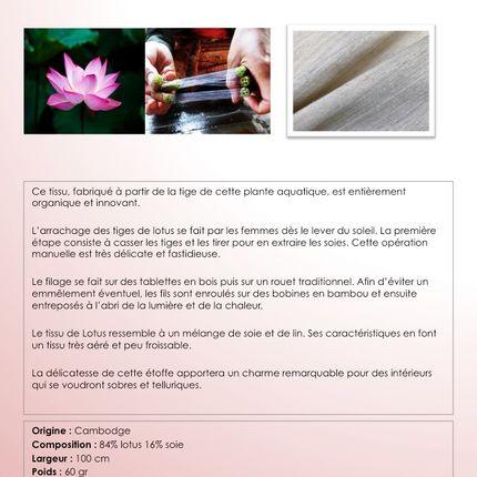 Fabrics - Lotus - FORWEAVERS