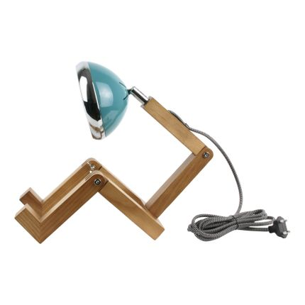 Table lamps - WOODEN MAN LAMP - LA CHAISE LONGUE