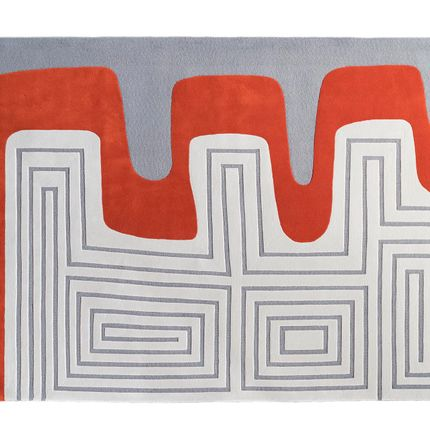 Design - Meander rug - DARE TO RUG