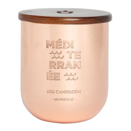 Candles -  Traversée Scented Candle, Mediterranean, Large - LOU CANDELOUN