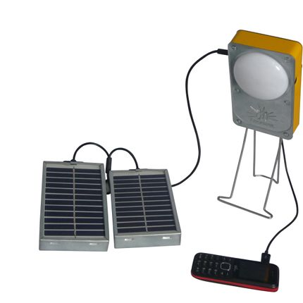 Wireless lamp - SOLAR LAMP USB PORT CELL LAGAZEL - CJ FRANCE