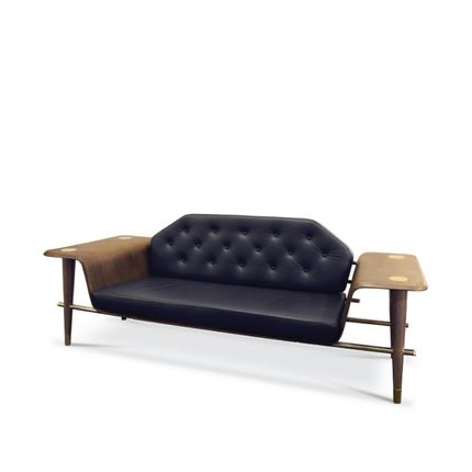 Settees - Curtis | Sofa - ESSENTIAL HOME